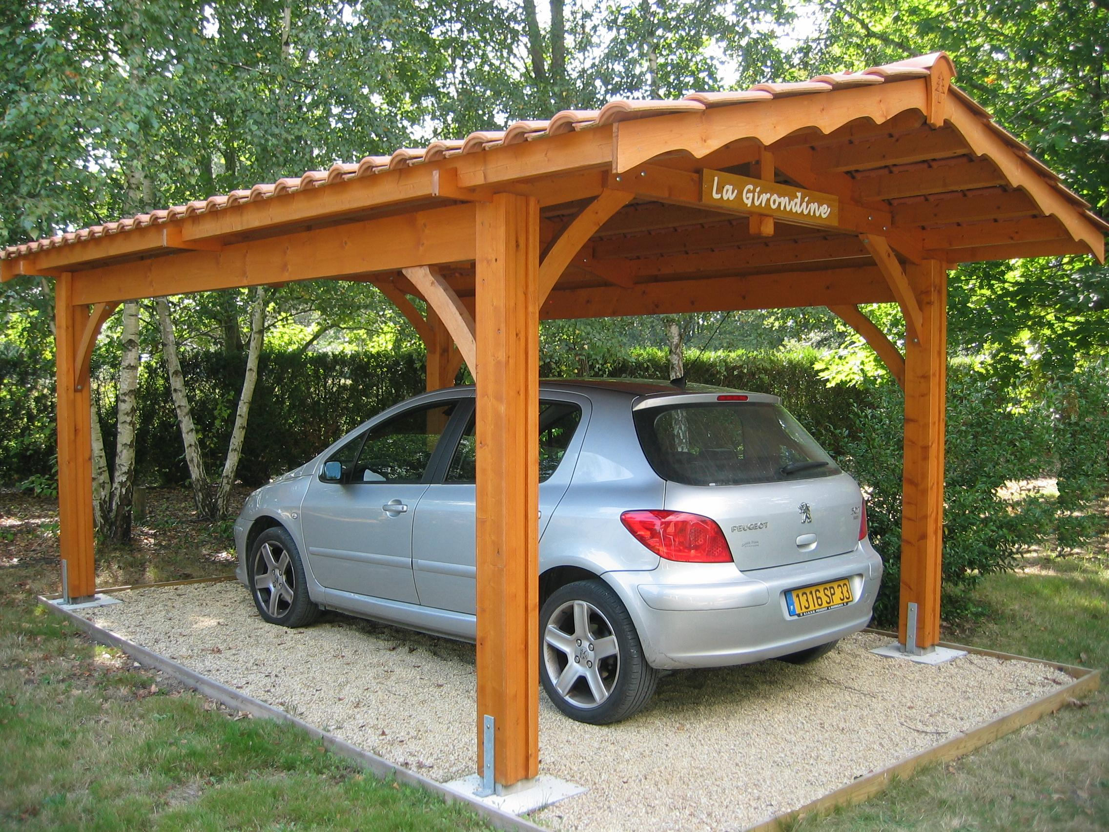 fabricant d 39 abri de jardin bois abri voiture carport pergola portail bordeaux. Black Bedroom Furniture Sets. Home Design Ideas