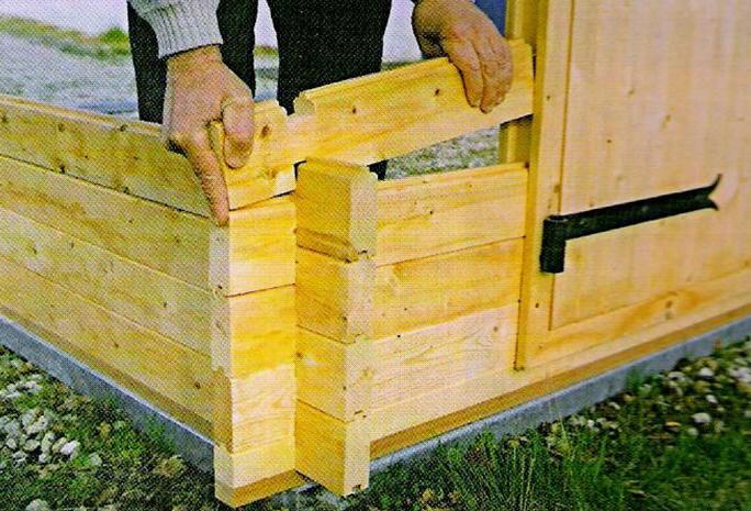 fabricant abris de jardin bois couverture en tuiles nombreux mod les. Black Bedroom Furniture Sets. Home Design Ideas