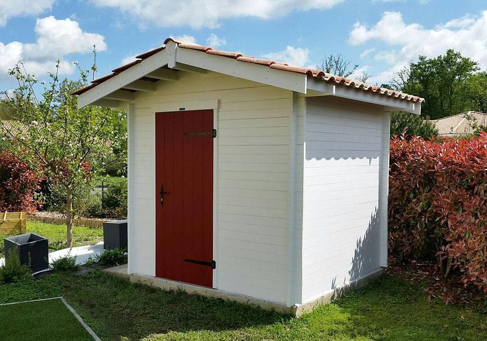 Modèle LA MONGIE 4,84 m²<br/> Façade 2,20<br/> Profondeur 2,20<br/> Modèle de base