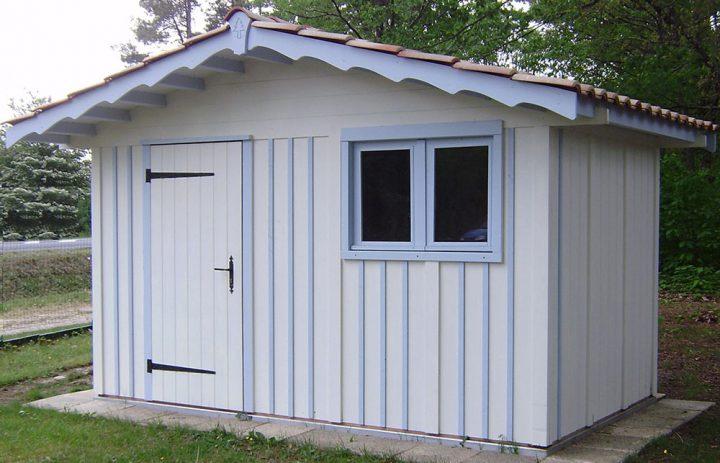 Modèle ARES m²<br/> Façade 3,60<br/> Profondeurs 2,60<br/> Présenté avec option : fenêtre 2 vantaux vitrés