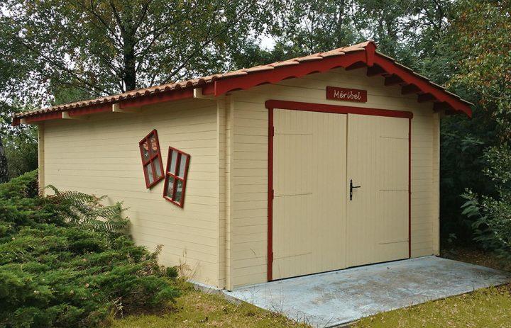 Garage bois 33