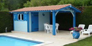 abri piscine bois 33